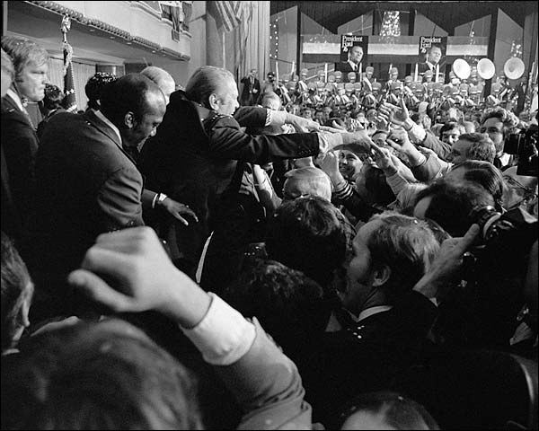 President Gerald Ford & Jimmy Carter Debate Photo Print for Sale
