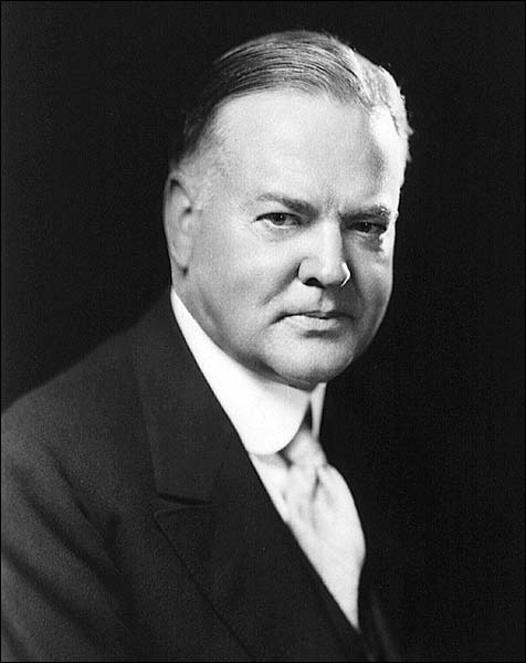 President Herbert Hoover Portrait Photo Print for Sale