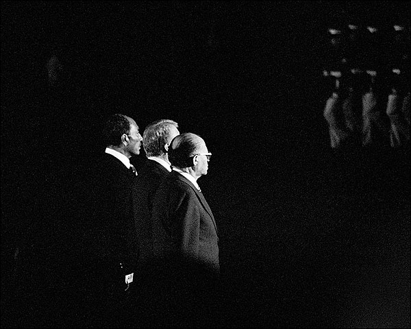 President Jimmy Carter, Sadat & PM Begin Photo Print for Sale