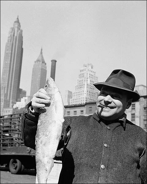 Fulton Fish Market New York by Gordon Parks Photo Print for Sale