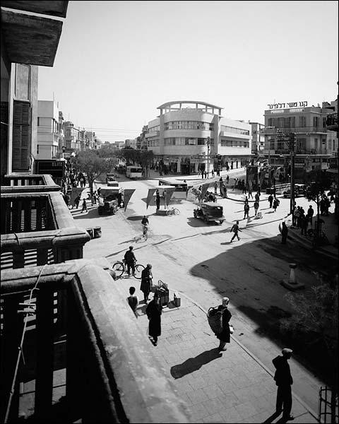 Tel Aviv / Tel-Aviv, Israel Street 1936 Photo Print for Sale