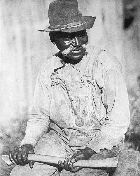 Black Appalachian Laborer by Doris Ulmann Photo Print for Sale