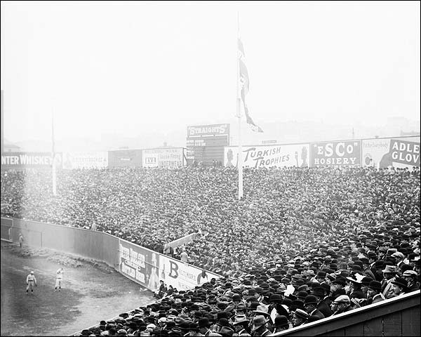 Fenway Park Outfield 1912 World Series Photo Print for Sale