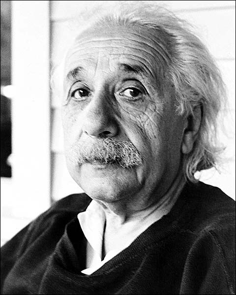 Physicist Albert Einstein Portrait Photo Print for Sale