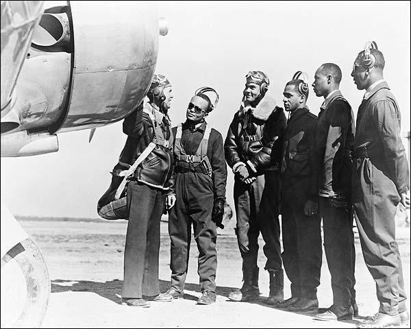Benjamin Davis & 1st Tuskegee Airmen Photo Print for Sale