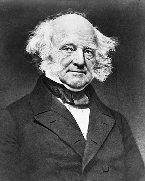 President Martin Van Buren Portrait Photo Print for Sale