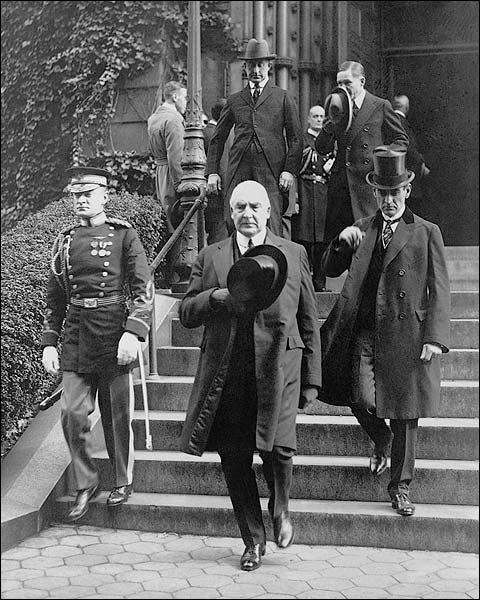 President Warren Harding & George Christian Photo Print for Sale