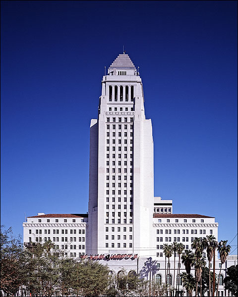 Art Deco Los Angeles City Hall Photo Print for Sale