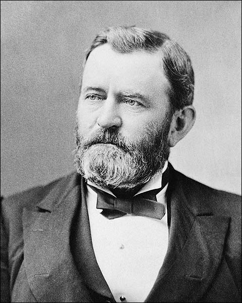 President Ulysses S. Grant Portrait Photo Print for Sale