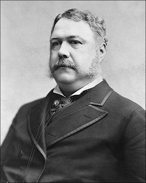 President Chester A. Arthur Portrait Photo Print for Sale