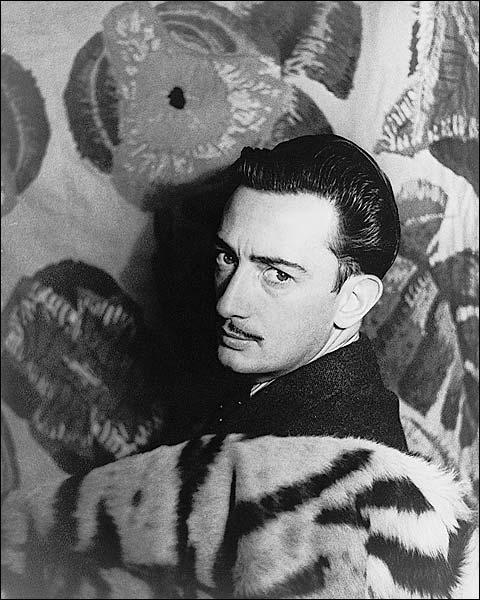 Artist Salvador Dali Portrait Photo Print for Sale