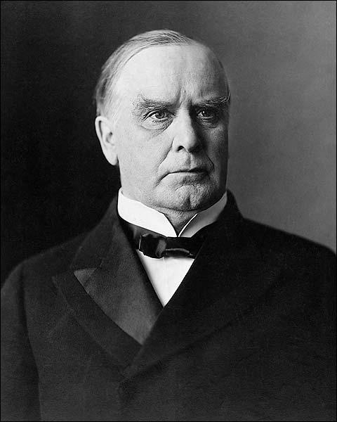 President William McKinley Portrait Photo Print for Sale