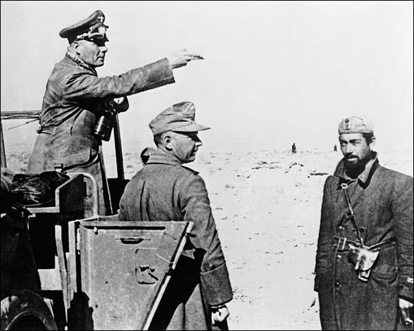 Erwin Rommel 'Desert Fox' of Afrika Korps WWII Photo Print for Sale