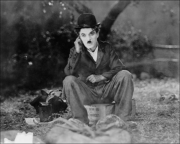 Still Photo of Charlie Chaplin in 'The Circus