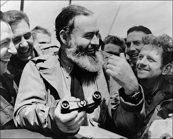American Novelist Ernest Hemingway Photo Print for Sale