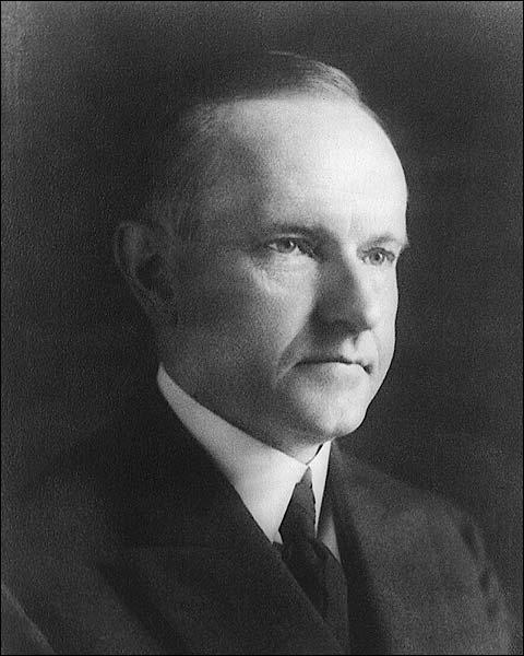 President Calvin Coolidge Portrait Photo Print for Sale
