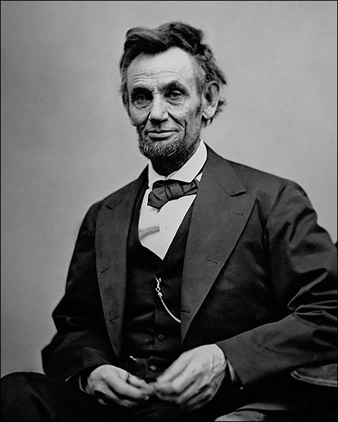 President Abraham Lincoln 3/4 Length Portrait Photo Print for Sale