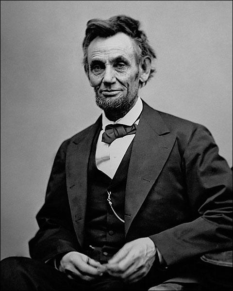 President Abraham Lincoln 3/4 Length Portrait Photo Print for Sale