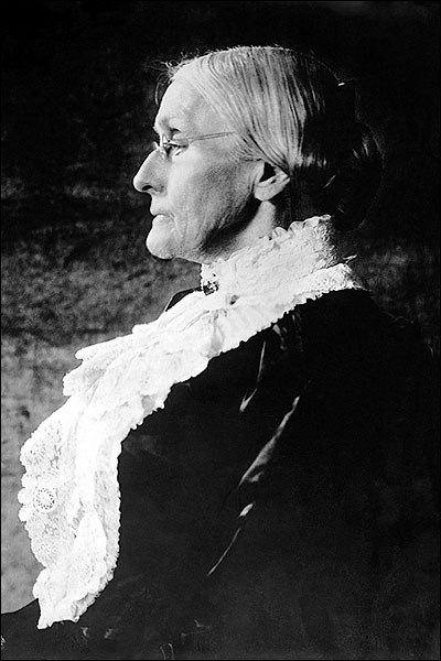 Susan B. Anthony Seated Profile Portrait Photo Print for Sale