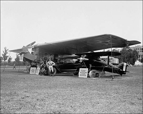 Pilots Oakley Kelly and John MacReady Photo Print for Sale
