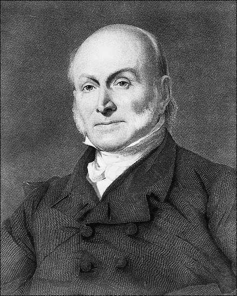 Portrait of John Quincy Adams Photo Print for Sale