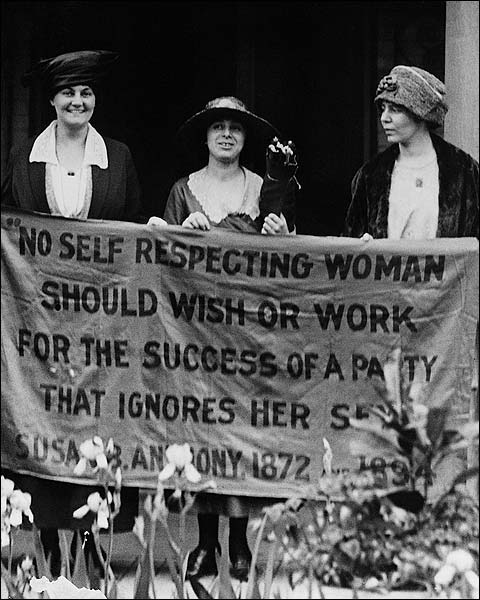 Women's Suffrage Movement Protest Republican Convention Photo Print for Sale