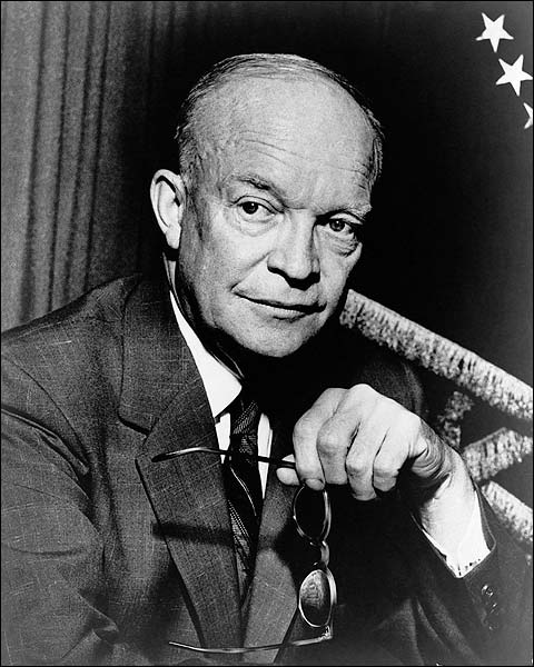 Portrait of Dwight D. Eisenhower Photo Print for Sale