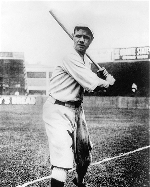 Baseball Great Babe Ruth New York Yankees Photo Print for Sale