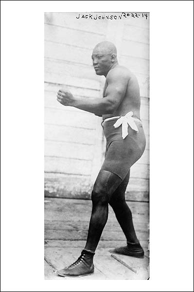 American Boxing Champion Jack Johnson Photo Print for Sale