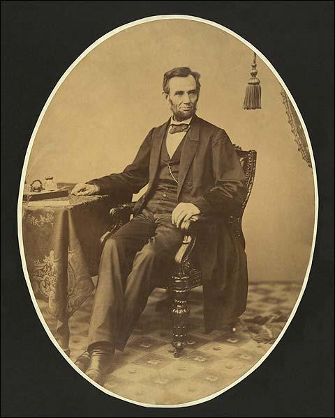 Abraham Lincoln Portrait 1863 Photo Print for Sale