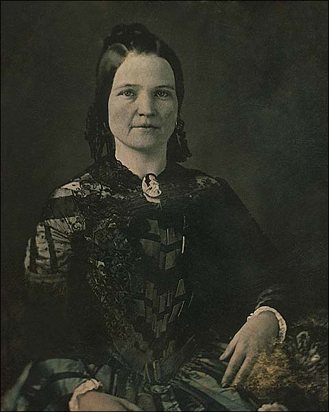 Mary Todd Lincoln 3/4 Seated Portrait Photo Print for Sale