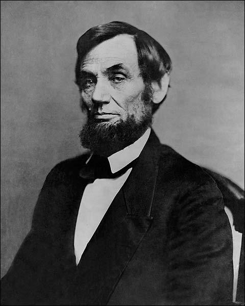 President Abraham Lincoln 1862 Portrait Mathew Brady Photo Print for Sale