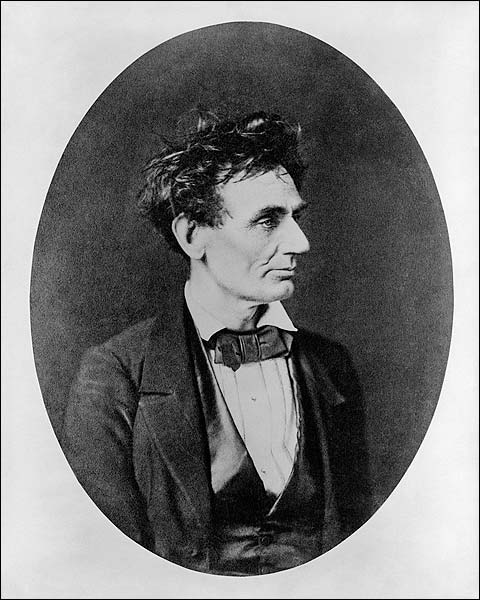 Abraham Lincoln Prior to U.S. Senate Nomination 1850s Photo Print for Sale