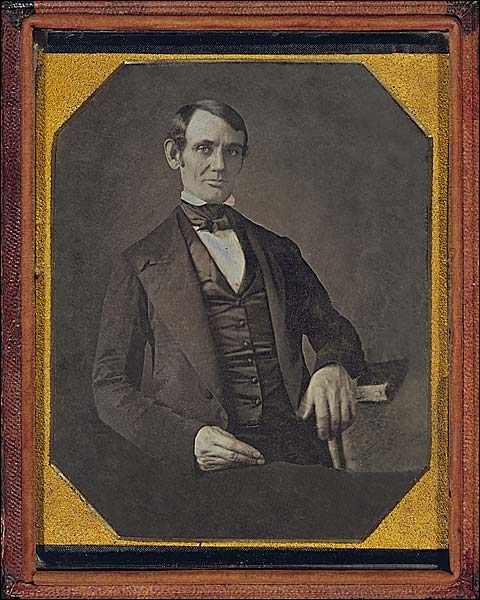 Abraham Lincoln 1840s Portrait Photo Print for Sale