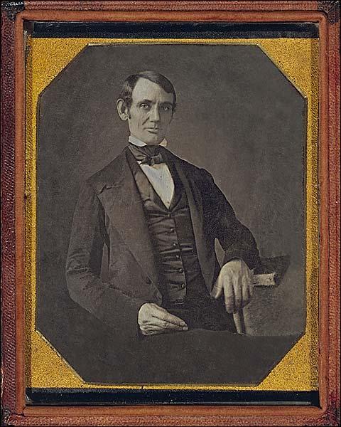 Abraham Lincoln 1840s Portrait Photo Print for Sale