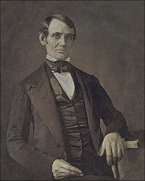 1840s Portrait Abraham Lincoln Photo Print for Sale