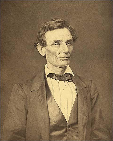 Abraham Lincoln Portrait 1860 Photo Print for Sale
