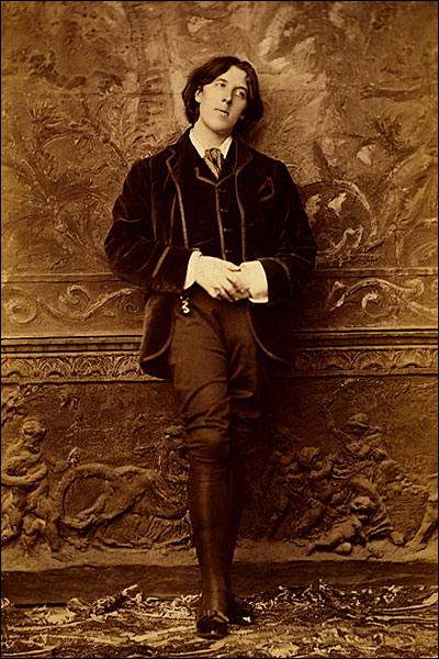 Oscar Wilde Full Length Standing Portrait Photo Print for Sale
