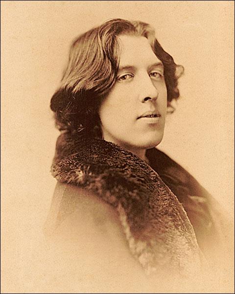 Oscar Wilde Bust Sarony Portrait 1882 Photo Print for Sale