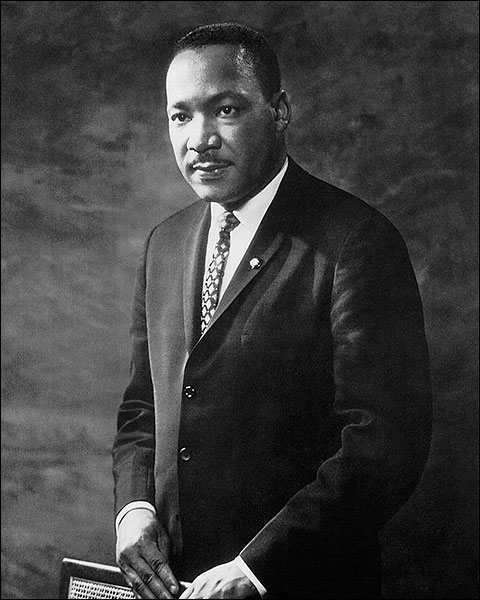 Portrait of Dr. Martin Luther King, Jr. Photo Print for Sale