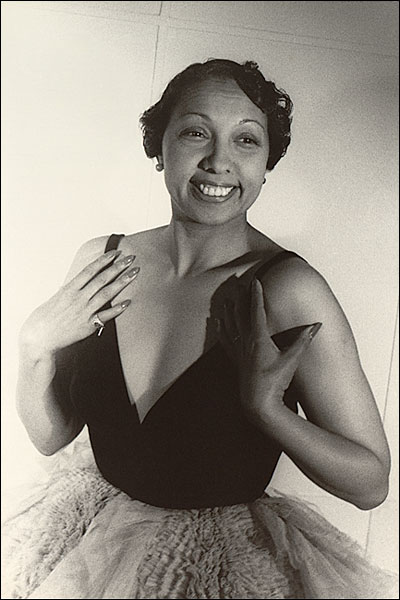 Portrait of Entertainer Josephine Baker Photo Print for Sale