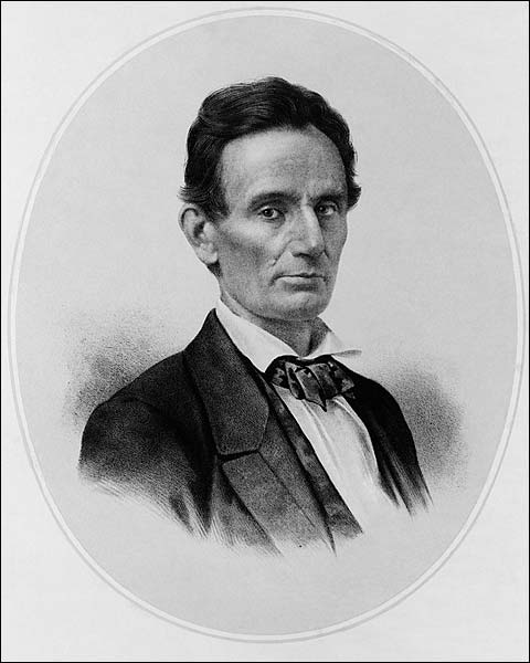 Lithograph of President Abraham Lincoln Photo Print for Sale