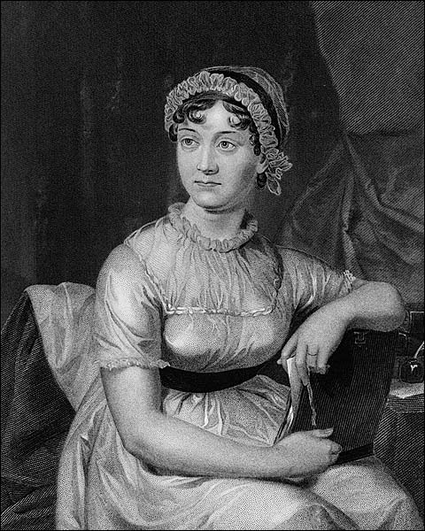English Novelist Jane Austen Portrait Photo Print for Sale