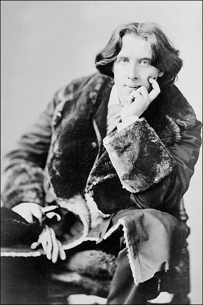 Oscar Wilde Seated Sarony Portrait 1882 Photo Print for Sale