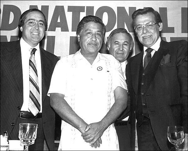 Civil Rights Activist and Labor Leader Cesar Chavez Photo Print for Sale