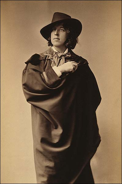 Oscar Wilde 3/4 Length Sarony Portrait 1882 Photo Print for Sale