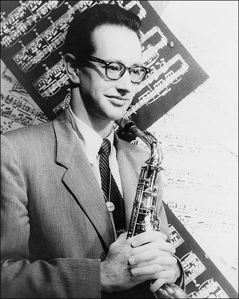 Portrait of Saxophonist Paul Desmond 1954 Photo Print for Sale