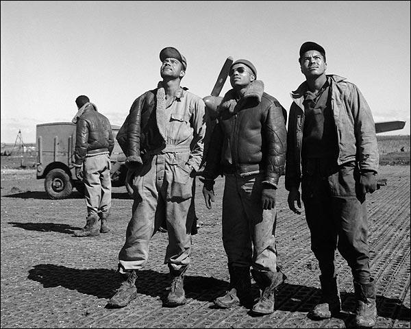 Tuskegee Airmen Ground Crew in Ramitelli, Italy 1945 Photo Print for Sale