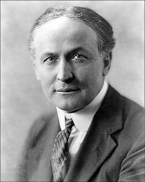 Magician Harry Houdini Portrait 1925 Photo Print for Sale