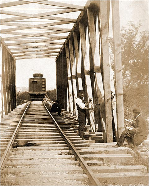 U.S. Military Railroad Operations Civil War Photo Print for Sale